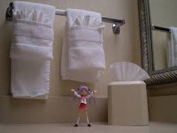 how to fold bath towels quick simple and easy youtube