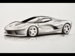 imagenes de ferraris para dibujar faciles cómo dibujar un carro ferrari arte divierte youtube