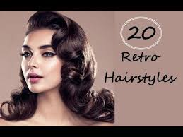 top 20 beautiful retro hairstyles for women with long short