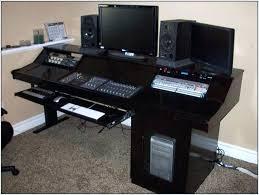 home studio workstation desk home recording desk home studio desk plans home recording studio