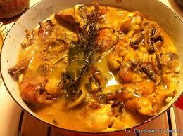 de recette de cuisine familiale recette lapin au chablis la cuisine familiale un plat une