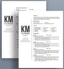 Resume Templates With Cover Letter Professional Resume Template And Cover Letter Template For Word
