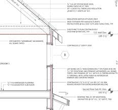 advanced wall framing fine homebuilding framing section detail for the prohome showing advanced framing concepts