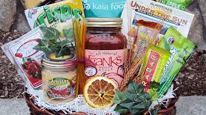 healthy gift basket ideas athlete healthy gift basket