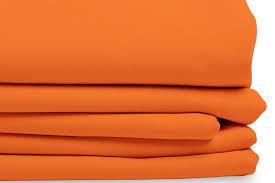 Orange Thermal Curtains Curtain Orange Blackout Curtain Solid Color Mc230 Moondream