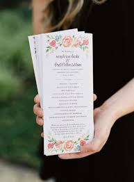 beautiful wedding programs 17 best images about wedding programs on unique