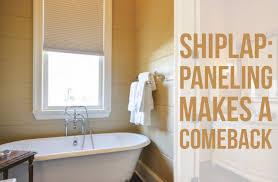 Shiplack Shiplap Paneling Makes A Comeback Acadian House Kitchen Bath
