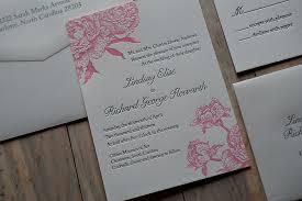 wedding invitations jakarta real wedding lindsay and richard vintage peony wedding invitation