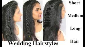wedding party special occasions hairstyles for girls open hair