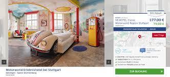 v8 hotel motorworld 2 tage im stylischen themenhotel für 39 50