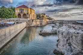 a beautiful house in batroun bay lebanon in a picture