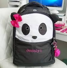 Pottery Barn Free Shipping Codes Pottery Barn Kids Panda Critter Backpack 18 99 Reg 49 50