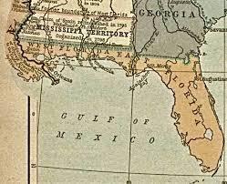 louisiana florida map florida 1819 the louisiana purchase