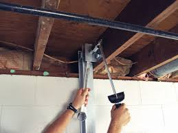 the powerbrace wall repair system installation in ohio i beam