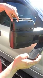 ford f150 replacement mirror f150 chrome top half replacement of towing mirror