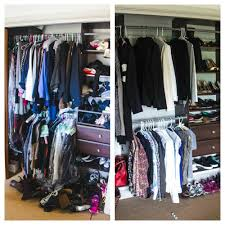 how to organize clothes without a closet interesting small closet