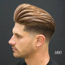 how to fade hair from one length to another pompadour fade haircuts