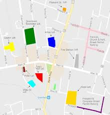 Franklin Ma Map 2017 Greenfield Parking Map Town Of Greenfield Ma