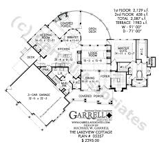 cottage house floor plans lakeview cottage house plan house plans by garrell associates inc