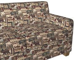 Tapestry Upholstery Fabric Online Amazon Com A014 Bears Deer Moose Acorns And Pine Trees Themed