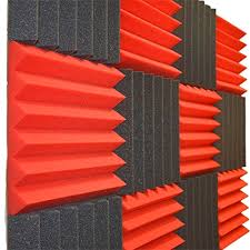 home theater soundproofing amazon com 12 pk red charcoal 2