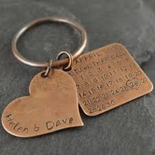 8th wedding anniversary gifts for him 8th anniversary gift bronze anniversary gifts for men or for