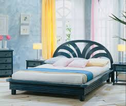 chambre en rotin chambre à coucher en rotin tête de lit et lit en rotin haut de gamme