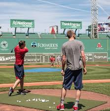 Fenway Map Red Sox Pitchers Chris Sale And Drew Pomeranz Hit Golf Balls At
