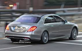 mercedes s 2014 2014 mercedes s class spied rear three quarter 1 photo on