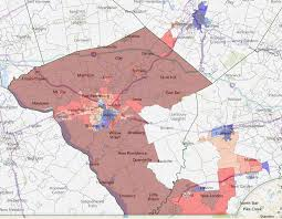 Map Of Berks County Pa Pa 16 Can Hartman Actually Win Maps Politicspa