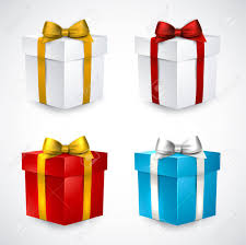 bows for gift boxes collection of 3d closed gift boxes with satin bows royalty free