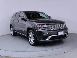 granite crystal metallic jeep grand cherokee used 2015 jeep grand cherokee summit 4wd suv for sale in west palm