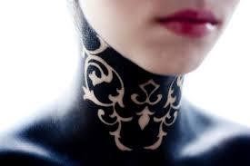 scientific tattoo on u0027s neck