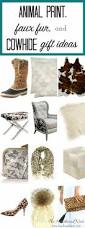 all i want for christmas is animal print cowhide and fuzzy furry