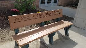 sgt michael sheerin memorial bench u2013 adventures around putnam