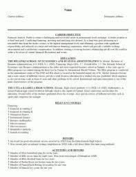 Example One Page Resume by Resume Template Templates Open Office Free Download Inside 79