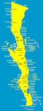 Mexico Beach Map by Baja California Map California Map