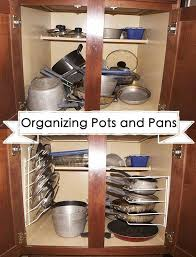 kitchen cabinet storage solutions diy pot and pan pullout organizing your pots and pans jamonkey atlanta