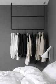 bedroom furniture steel clothes rack portable coat closet brass