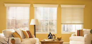 Home Decorators Collection 2 Inch Faux Wood Blinds Decorating Faux Wood Blinds In White With Decorative Trim Board