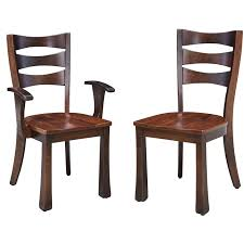 Made Dining Chairs Custom Amish Made Dining Room Chairs Benches Spire