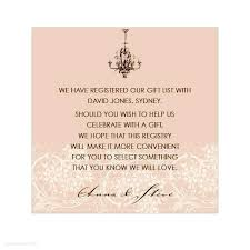 registry for wedding new wedding invitations registry wording for click image to