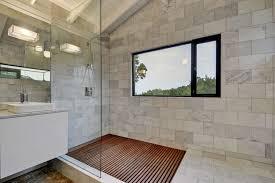 bathroom shower floor ideas bathroom teak wooden shower floor