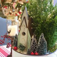 country christmas centerpieces church in the woods christmas centerpiece the everyday home