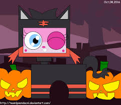 halloween lps halloween unikitty as litten 101 by teamlpsandacnl on deviantart