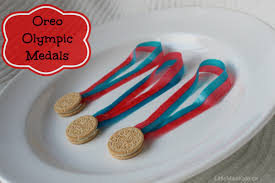 olympic crafts for kids edible oreo olympic medals little miss