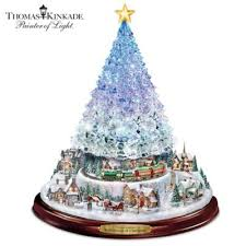 Ceramic Christmas Tree With Lights For Sale Exclusive Thomas Kinkade Gifts And Collectibles Bradford Exchange