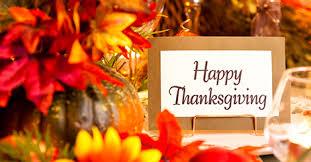Thanksgiving 2015 November 2015 Social Security Matters