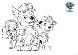 coloriage pat patrouille dessin à imprimer gratuit