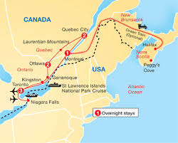 map of east canada east of canada map travel maps and major tourist attractions maps